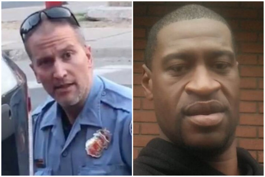 George Floyd and Minneapolis officer
